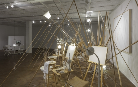 MICHAELA. ROBINSON | THE LAST OF THE LAST OF THE LAST | INSTALLATION VIEW) | 2012