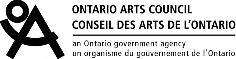 CHERYL PAGUREK ACKNOWLEDGES FUNDING SUPPORT FROM THE ONTARIO ARTS COUNCIL, AN AGENCY OF THE GOVERNEMENT OF ONTARIO