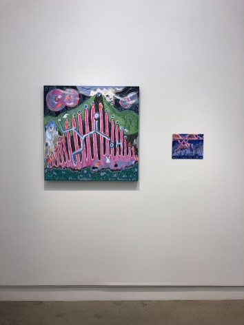 ÈVE K. TREMBLAY | MADELEINES MINERALES ENTRE LES FEUX | EXHIBITION VIEW | OCCURENCE CENTRE D'ART ET D'ESSAI CONTEMPORAINS | 2018