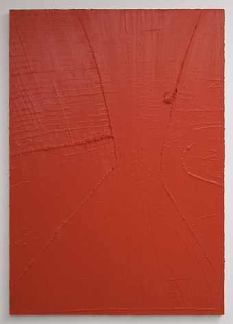PAUL BUREAU | NEW CUT (R) | OIL ON CANVAS | 47 X 50 INCHES | 2008