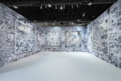 AMY SCHISSEL | INSTALLATION VIEW | BOOTH F27|THE ARMORY SHOW | NEW YORK| 2020| CREDIT PHOTO: MIKHAIL MISHIN