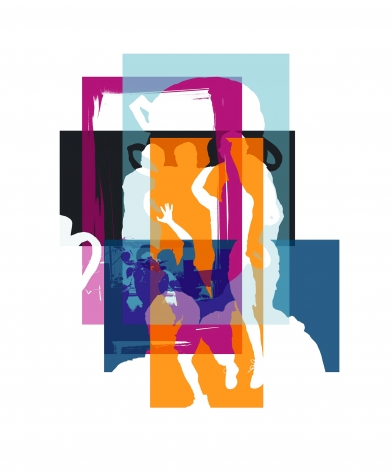 CHERYL PAGUREK | UNTITLED MOMENTS #2 | DIGITAL PRINT ON ARCHIVAL RAG PAPER | 29.5X 33.5INCHES | 2020,