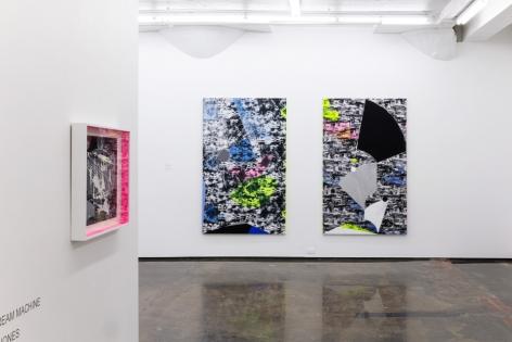 JANET JONES | THE DREAM MACHINE | VUE D'EXPOSITION| GALERIE PATRICK MIKHAIL| MONTRÉAL