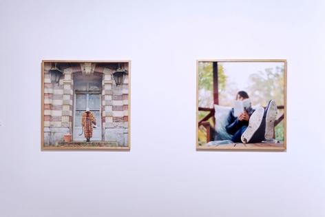 ÈVE K. TREMBLAY   ENTRE LES FEUILLES   EXHIBITION VIEW   MAISON DELA CULTURE PARC EXTENSION   2014