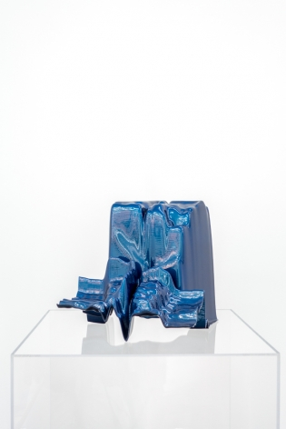OLIVER PAUK | OBJECT #38 | 3D PRINTED RESIN AND CAR PAINT | 13 X 12,5 X 12,5 INCHES |2016