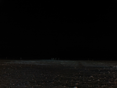 THOMAS KNEUBÜHLER |POLAR NIGHT| DAYS IN NIGHT | C-PRINT | 35 X 46.5 INCHES | 2013