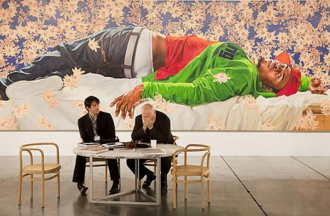ANDY FREEBERG Kehinde Wiley, Art Basel Miami Beach, 2010 (Sean Kelly)