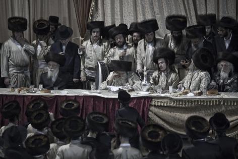 PAVEL WOLBERG, Wedding I, Toldot Aharon Hasidim, Bnei Brak, 2012