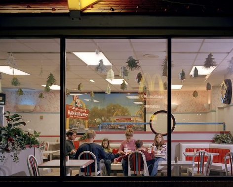 Angela Strassheim, Untitled (McDonalds), 2004