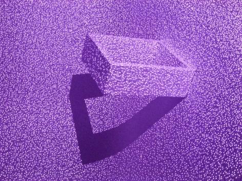 Visual Pyramid after Alberti, 2013-2014, Archival pigment print