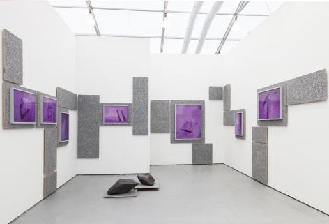 Installation view, UNTITLED Art Fair