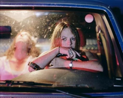 ANGELA STRASSHEIM Untitled (Girls in Pickup), 2006