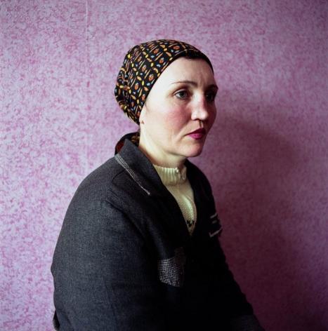 MICHAL CHELBIN, Ira (Headscarf), Women's Prison, Ukraine, 2009