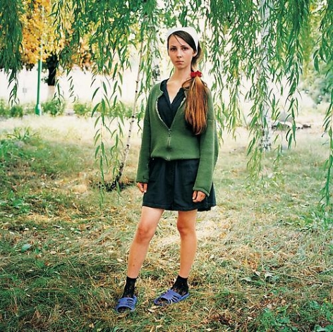 Michal Chelbin, Yana, sentenced for theft. Juvenile Prison for Girls, Ukraine, 2009