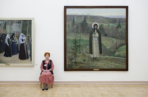 Andy Freeberg, Mikhail Nesterov's Blessed St. Sergius of Radonezh, Russian State Museum, 2009