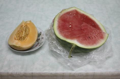 EINAT ARIF-GALANTI Watermelon and Melon, 2010