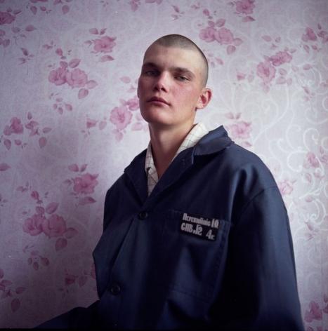 MICHAL CHELBIN, Vania, sentenced for sexual violence against women. Juvenile prison for boys, Ukraine, 2010