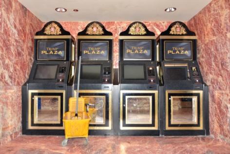 "Zoe Strauss,Defunct ""Trump One Card"" machines at Trump Plaza. Atlantic City, NJ. July 22, 2015, Archival Inkjet Print"