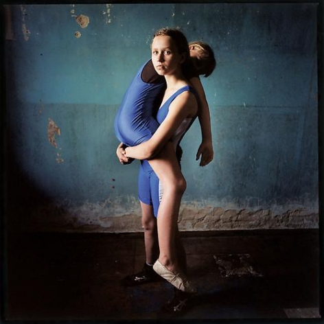 Girl Lifting Girl, Ukraine, 2008