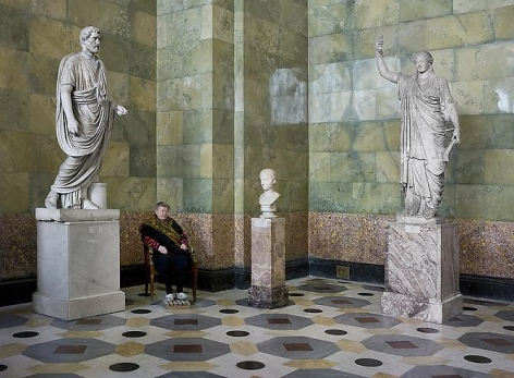 Andy Freeberg, Statues of Antonius Pius, Youth and Caryatid, State Hermitage Museum, 2008