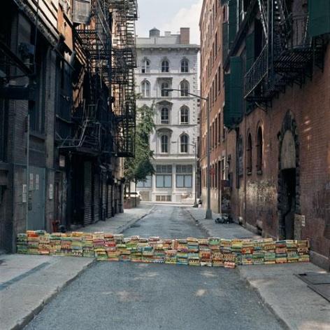 Language Barrier, Cortlandt Alley, Lower Manhattan, New York