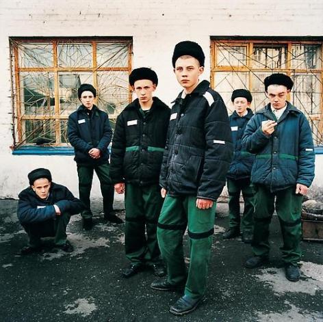 Michal Chelbin, Young Prisoners, Juvenile Prison for Boys, Russia, 2009