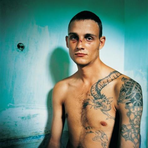 MICHAL CHELBIN, Vania, Sentenced for Murder. Men's Prison, Ukraine, 2010