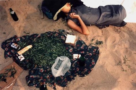 Bertien van Manen, Night on a Lake, 1997