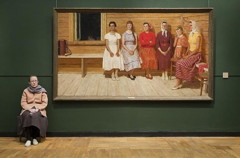 Andy Freeberg, Kugach's Before the Dance, State Tretyakov Museum, 2009