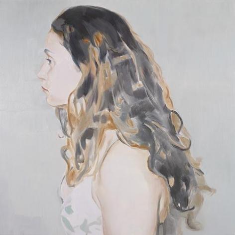 Profile, 2008 Oil on canvas