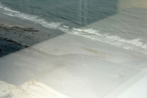 Zoe Strauss, View of Atlantic Ocean from Trump Taj Mahal, During Liquidation Sale_9828. Atlantic City, NJ. July 11, 2017, Archival Inkjet Print