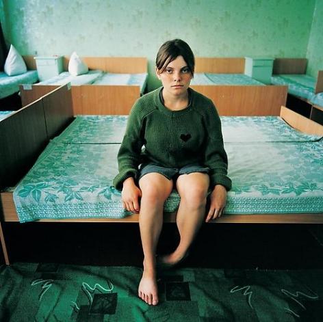 Michal Chelbin, Katya, sentenced for theft. Juvenile Prison for Girls, Ukraine, 2009
