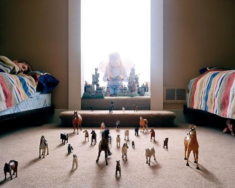 ANGELA STRASSHEIM Untitled (Horses), 2004