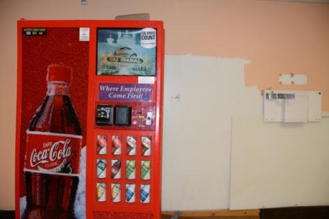 Zoe Strauss,Coca Cola Vending Machine in Trump Taj Mahal, During Liquidation Sale. Atlantic City, NJ. July 2017, Archival Inkjet Print
