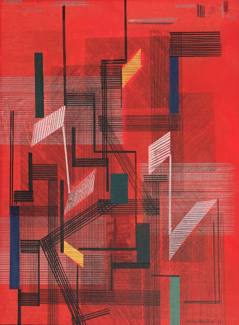 Irene Rice Pereira, Untitled Abstract