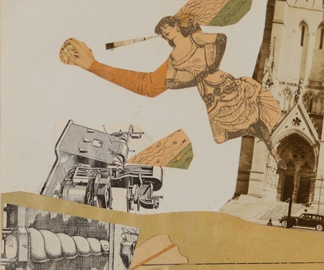 Byron Browne, Untitled Collage