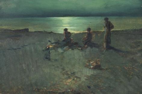 Henry Prellwitz, Beach Bonfire