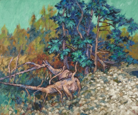 Easton Pribble, Spruce Trees on Cranberry Island