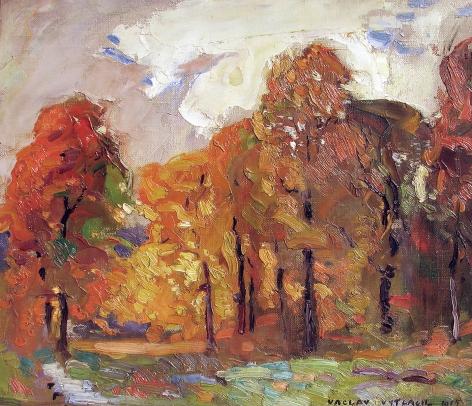 Vaclav Vytlacil, Fall Landscape