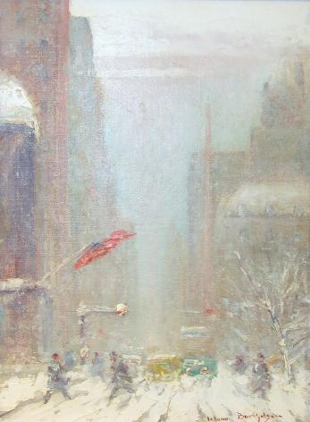 Johann Berthelsen, New York Winter