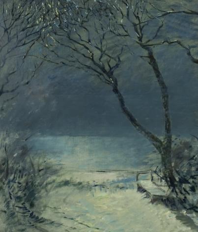 Henry Prellwitz, Bay at Night