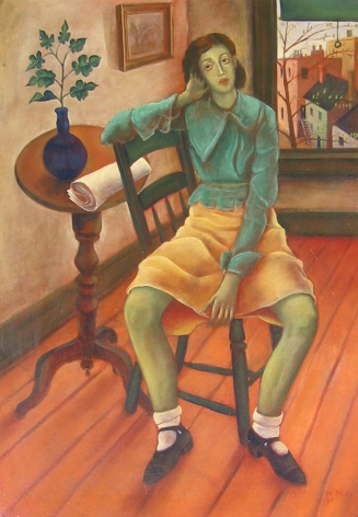 Julio De Diego, Girl in Interior