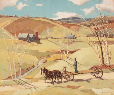 Paul Sample, Spring Work Begins