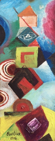 David Burliuk, Abstract