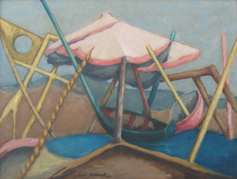 Louis Wolchonok, Surreal Beach Scene