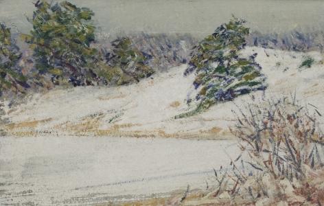 Henry Prellwitz, Winter Covered Hills
