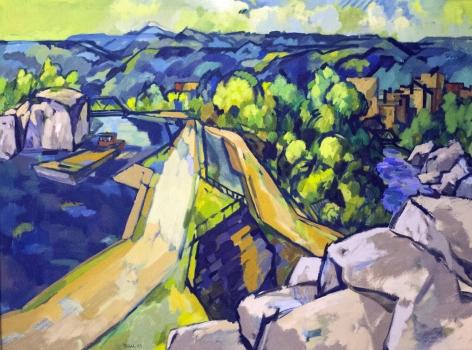 Easton Pribble, Little Falls