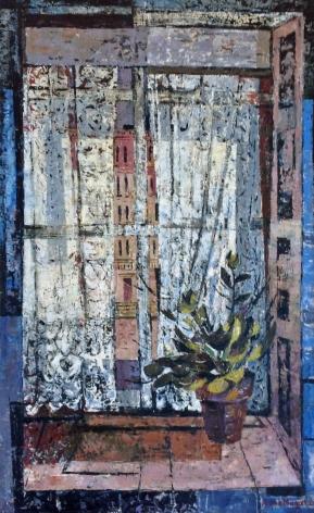 Jenne Magafan, Lace Curtain