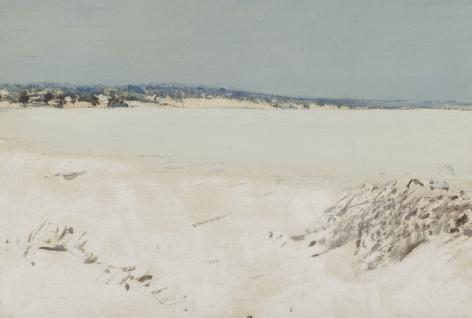 Henry Prellwitz, Peconic Bay in Winter