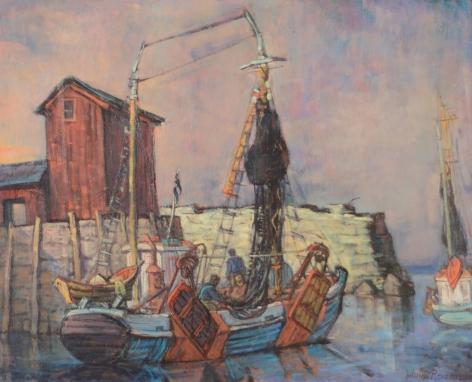 Philip Reisman, Sheltered Harbor